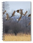 Poetry In Motion Spiral Notebook
