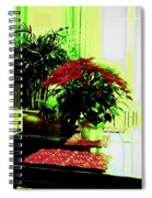 Poinsettia By Kef Spiral Notebook