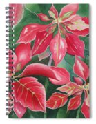 Poinsettia Magic Spiral Notebook