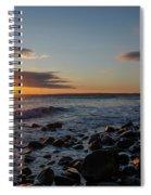 Point Allerton Sunrise - Nantasket Island Spiral Notebook