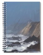 Point Arena Lighthouse  Spiral Notebook