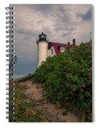 Point Betsie Lighthouse Spiral Notebook