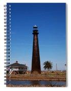 Point Bolivar Lighthouse Tx Spiral Notebook