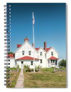 Point Iroquois Lighthouse Spiral Notebook