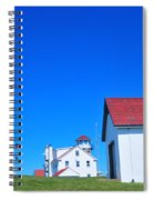 Point Judith Light Spiral Notebook
