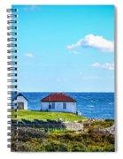 Point Judith Lighthouse Spiral Notebook