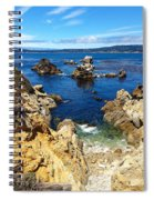 Point Lobos Whalers Cove- Seascape Art Spiral Notebook