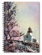 Point Loma Lighthouse- San Diego Spiral Notebook