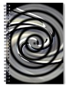 Point Of Illusion Spiral Notebook