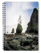 Point Of The Arches 4 Spiral Notebook