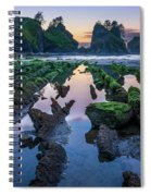 Point Of The Arches Spiral Notebook