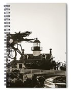 Point Pinos Lighthouse Spiral Notebook