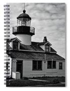 Point Pinos Pacific Grove Lighthouse Spiral Notebook