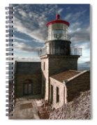 Point Sur Lighthouse - California  Spiral Notebook
