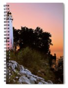 Pointe Aux Barques Spiral Notebook
