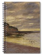 Pointe De Lailly Spiral Notebook