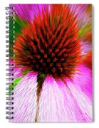 Pointed Flower Spiral Notebook