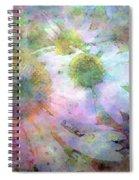 Pointillism Coneflowers 3571 Idp_3 Spiral Notebook