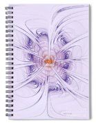Poiple Poiple Spiral Notebook