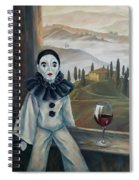 Poirrot In Tuscany Spiral Notebook