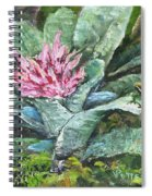 Poison Dart Frog On Bromeliad Spiral Notebook