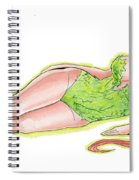 Poison Ivy 3 Spiral Notebook