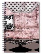 Poitrine Rose Spiral Notebook
