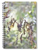 Pokeberry Light Spiral Notebook