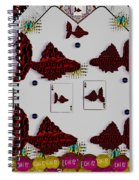 Poker Art Spiral Notebook