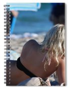 Poker At The Beach Spiral Notebook
