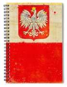 Poland Flag Spiral Notebook