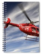 Polar First Helicopter Spiral Notebook
