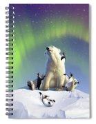 Polar Opposites Spiral Notebook