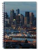 Polar Pioneer Docked In Seattle Spiral Notebook