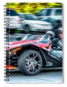 Polaris Slingshot  Spiral Notebook
