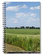 Polder Near Reeuwijk-1 Spiral Notebook