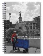 Poleada Vendor Spiral Notebook