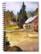 Polebridge Mt Cabin Spiral Notebook
