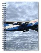 Polet An124 Ra82075 Spiral Notebook