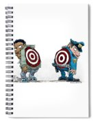 Police And Black Folks Are Targets Spiral Notebook