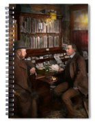 Police - The Private Eye - 1902  Spiral Notebook