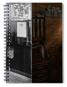 Police - The Private Eye - 1902 - Side By Side Spiral Notebook