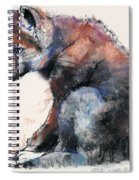 Polish Wolf Pup Spiral Notebook
