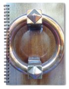 Polished Door Knocker Spiral Notebook