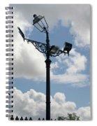 Polite Lamppost Spiral Notebook