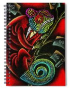 Political Chameleon Spiral Notebook