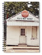 Polk's Meat Market Spiral Notebook