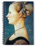 Pollaiuolo: Young Woman Spiral Notebook