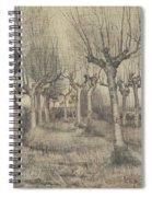 Pollard Birches Nuenen  March 1884 Vincent Van Gogh 1853  1890 Spiral Notebook