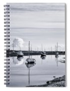Reflections In A Creek  Spiral Notebook